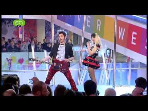 www.mediagate.gr Eurovision 2012 Greece No Parking Velvet Fire