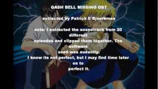 zatch bell missing OST
