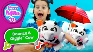 How Milk Cow Bounce And Giggle Cow Joy Learning Funny Review