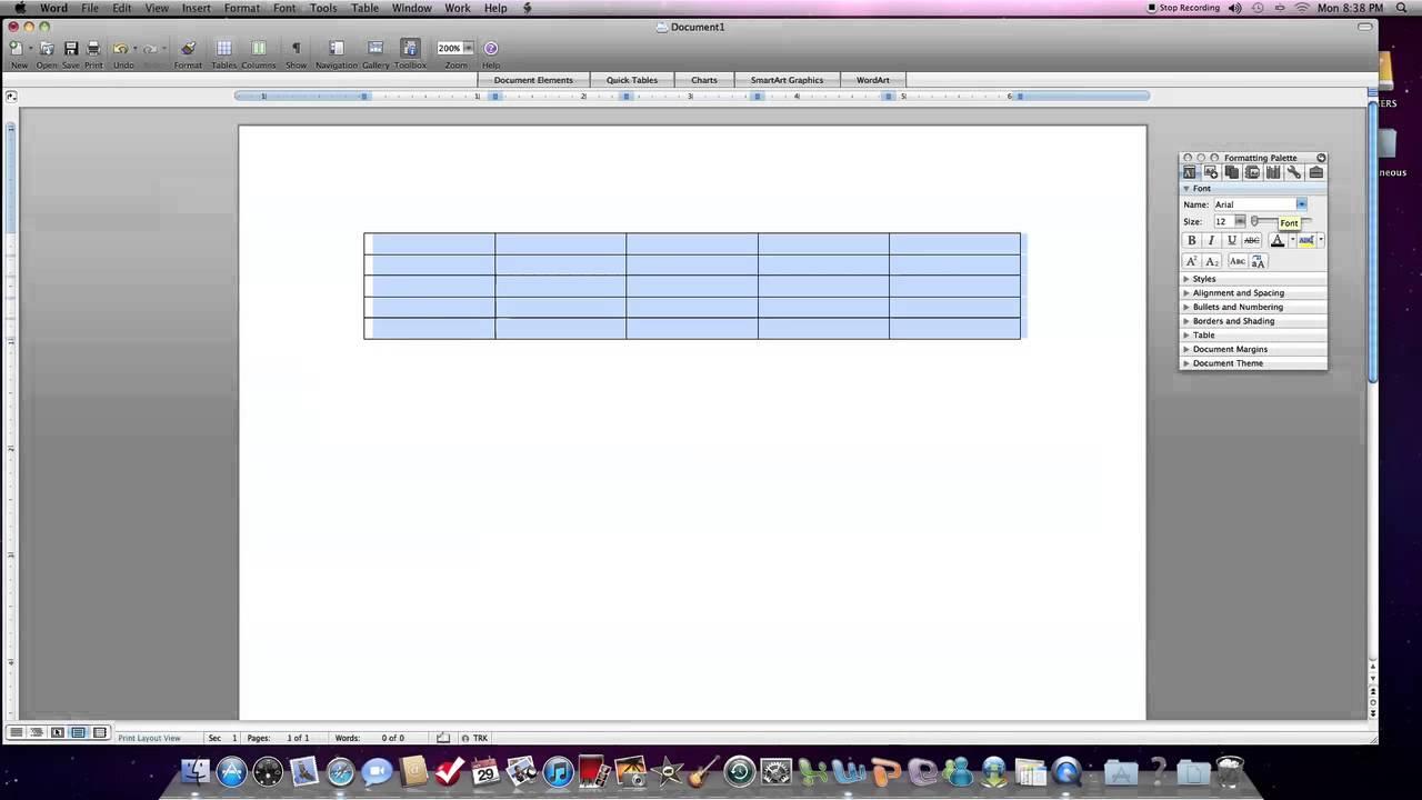 How To Draw On Microsoft Word Mac