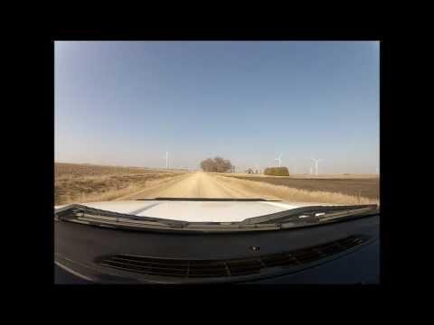 Windmills & Dirt Roads in Iowa