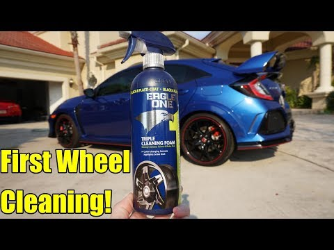 Eagle One Wheel Cleaner Review. 2019 Honda Civic Type R