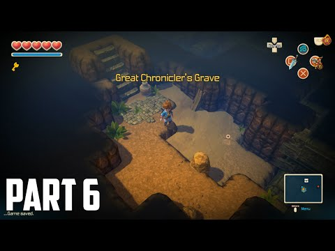 Oceanhorn: Monster Of Uncharted Seas - 100% Walkthrough Part 6 [PS4] –  Great Chronicler's Grave