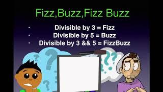 FIZZBUZZ PROGRAMMING EXERCISE