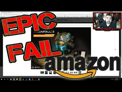 Amazon FAILS w/ Titanfall 2 - Angry Rant