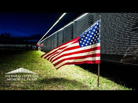 The Wall That Heals: Vietnam Veterans Memorial replica and mobile Education Center