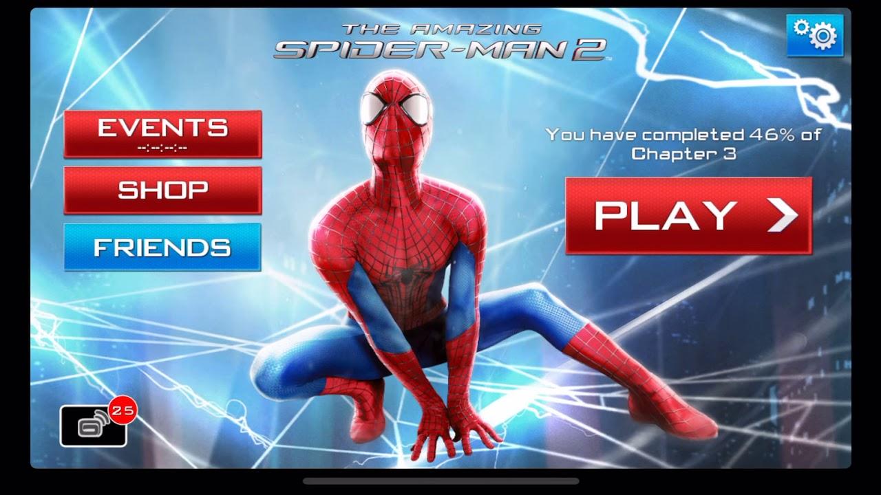 amazing spider man 2 game free download ios