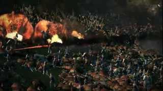 A Fire Rocket massacre, where several units of fire rockets unleash...
