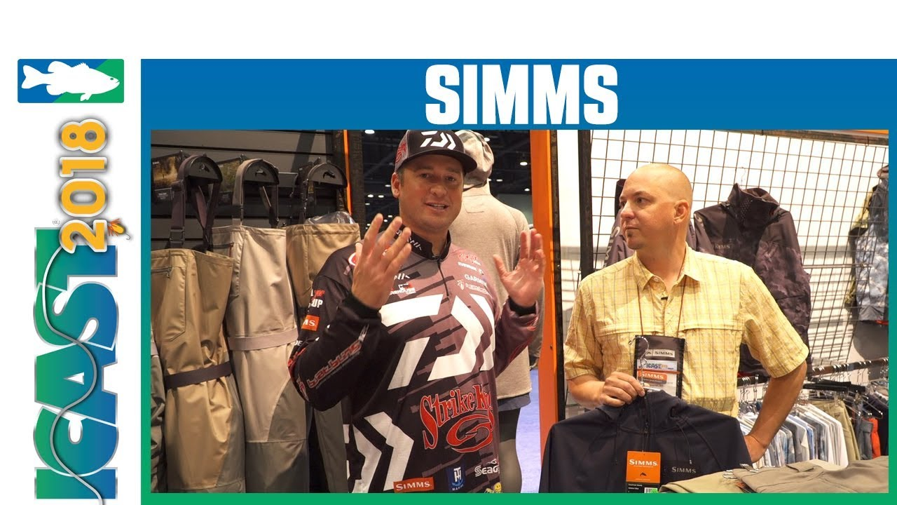 24d44c42 ICAST 2018 Videos - Simms Katafront Hoody & Fast Action Pant with Cody Meyer