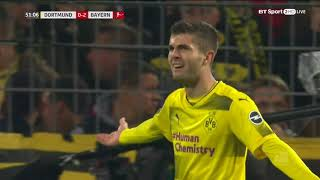 Christian Pulisic- All Touches vs. Bayern Munich- 11/4/2017