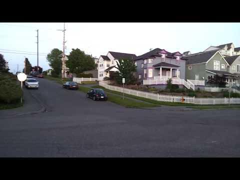 Streets near Port of Everett, Washington, May 22, 2017