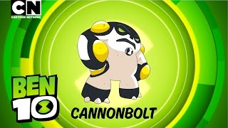 Ben 10 | Aliens in Action: CANNONBOLT! | Cartoon Network