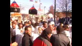 Life in America :  Medhane Alem Orthodox Church in Maryland  Seg 3