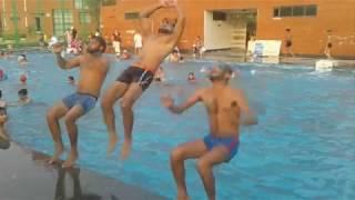 Workout with swimmin    vikram dahiya    workout with fun    vk ki gang   