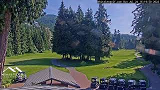 Whistler Golf Club - 1st hole