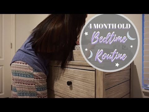 BABY BEDTIME ROUTINE 2018 | 4 MONTHS OLD