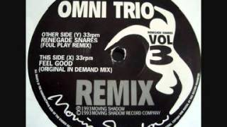 Omni Trio - Renegade Snares (Foul Play Remix) (1993)
