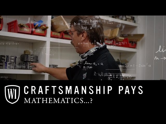 Craftsmanship Pays: Mathematics...? Required for precision profiles