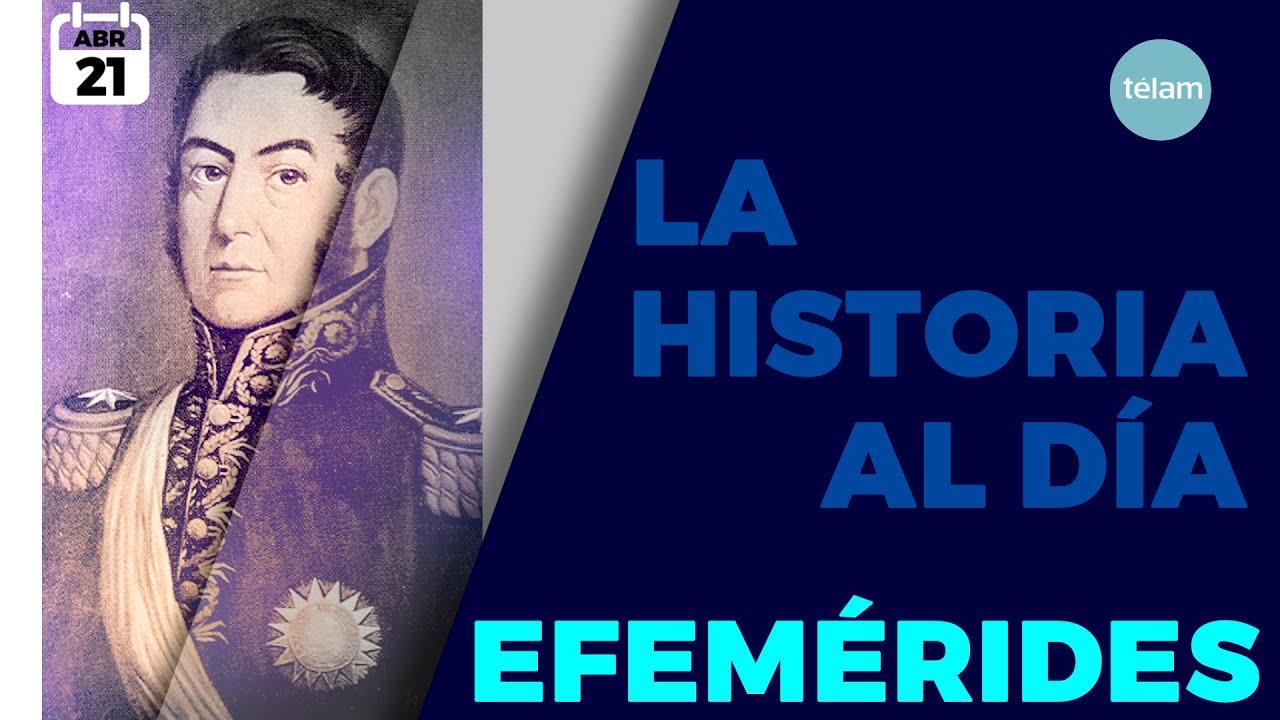 HISTORIA DEL DIA (EFEMÉRIDES 21 DE ABRIL)
