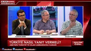 Seçim Özel- 20  Haziran 2018 - Gürkan Demir- Özcan Yeniçeri-Yıldırım Koç- Ulusal Kanal