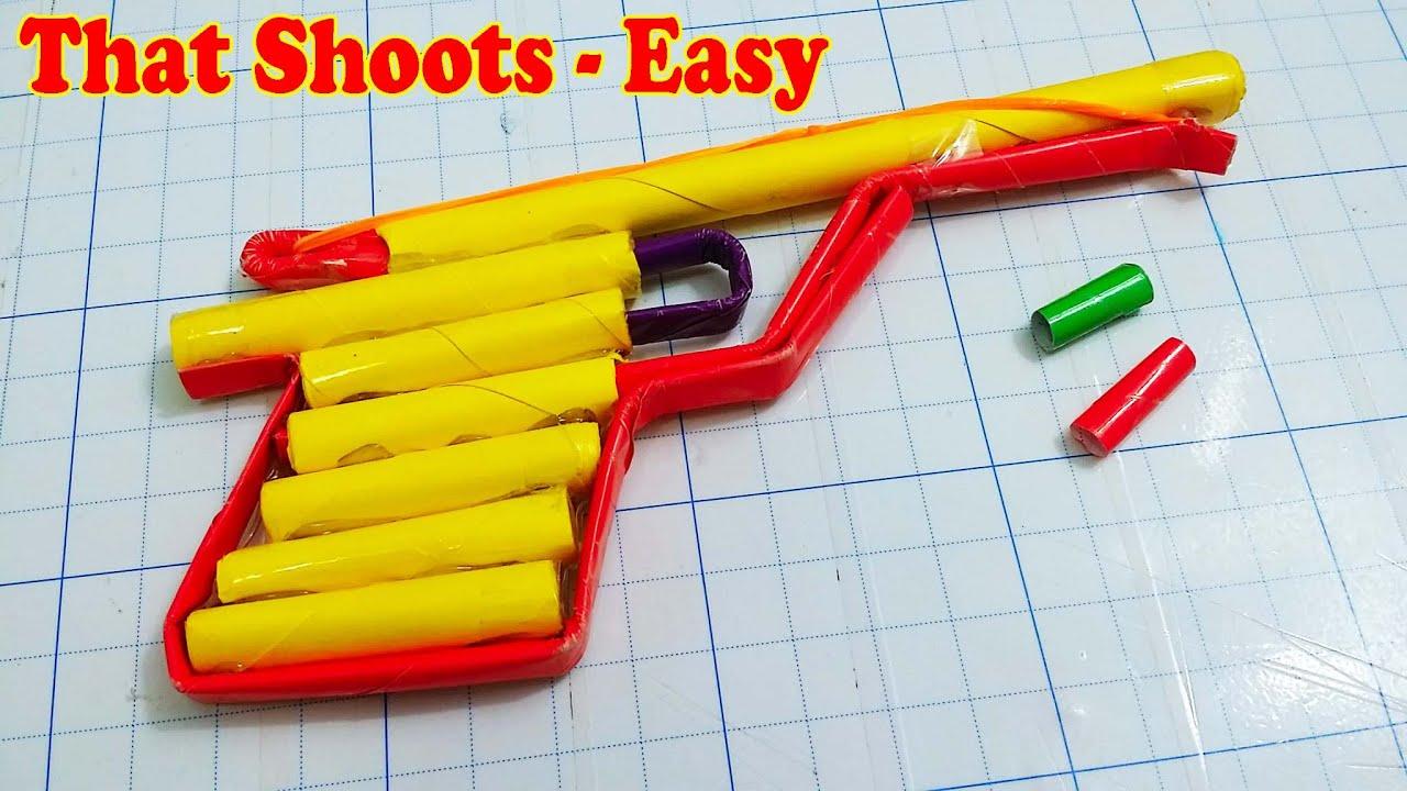 Comment faire un papier pistolet qui tire facile youtube - Comment fabriquer un pistolet ...