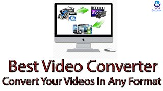 Best Video Converter - Convert Your Videos In Any Format & How To Use This Software ? [Hindi/Urdu]