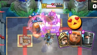 Giant ,prince dark prince deck in clash roayle in hindi