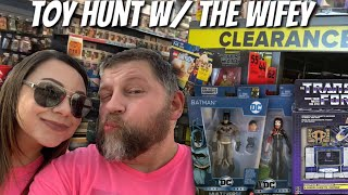 Toy Hunting for New Multiverse, Marvel Legends, Transformers!