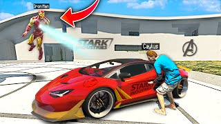 I Stole IRON MANS Supercars In GTA 5! (Mods)