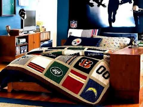 Football Bedroom Decorating Ideas   Football Bedroom Ideas