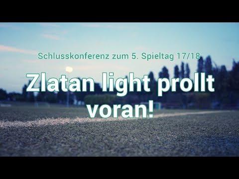 5. Spieltag: Zlatan light prollt voran