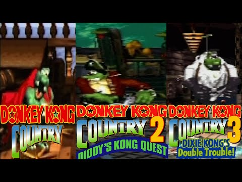 Donkey Kong Country Final Boss: 1,2,3