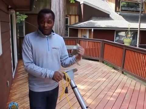 Werkmaster Sandpaperless Wood Deck Paint Stain Removal System Youtube