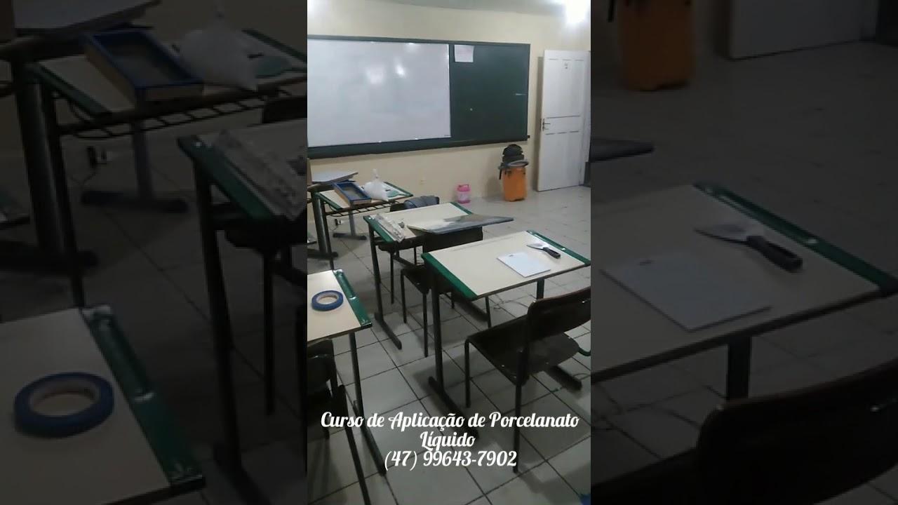 CURSO PRÁTICO DE APLICAÇÃO DE PORCELANATO LIQUIDO