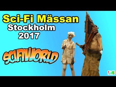 Sci-Fi Mässan Stockholm 2017 / Sci-Fi Convention Stockholm 2017 Vlog