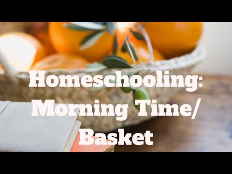 Truth, Beauty, and Goodness: Morning Time and Loop Scheduling | Catholic Homeschool