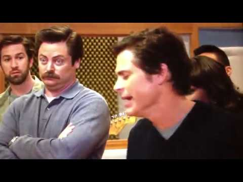 take me out to the ball game - parks and rec