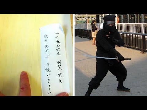 Berita Animasi: Mahasiswa Sejarah Ninja kerjakan  tugas dengan tinta tidak tampak -  TomoNews