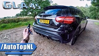 2018 Mercedes GLA 45 AMG REVIEW POV Test Drive by AutoTopNL