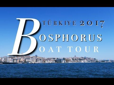 Istanbul: Bosphorus Boat Tour | TURKEY 2017 EP.03
