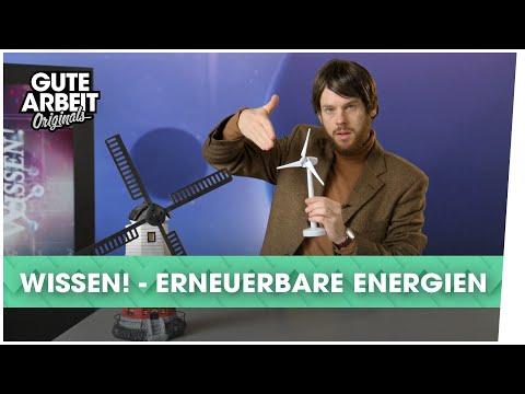 WISSEN! - Erneuerbare Energien | Gute Arbeit Originals