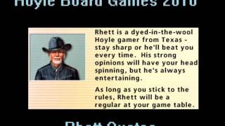 Hoyle Board Games 2010 - Rhett Quotes
