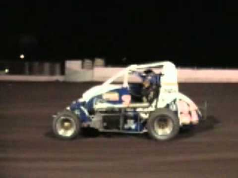 Bob Ream Midget at Manzanita Speedway Burkhart Spike Esslinger