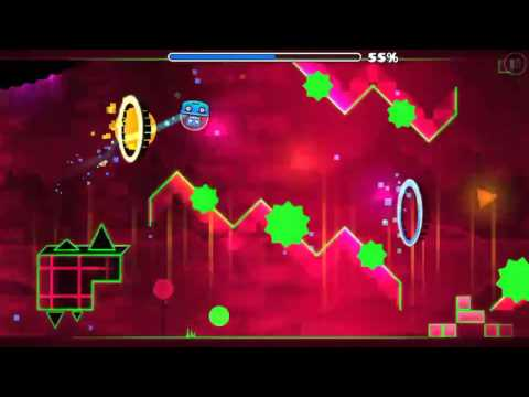 Geometry Dash World/Seismic Toss By Berkoo