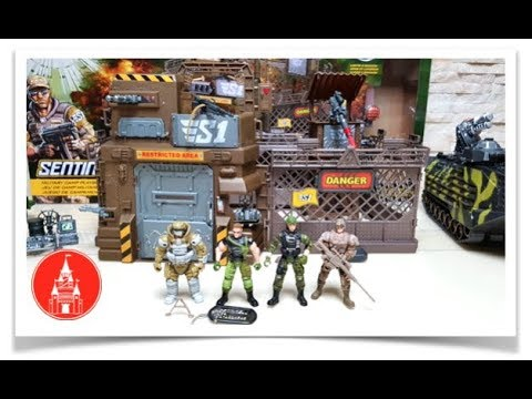 Toy Box ! True Heroes !!! SENTINEL 1 Military Toy Soldiers & Vehicles ! (Part 2 Of 3)