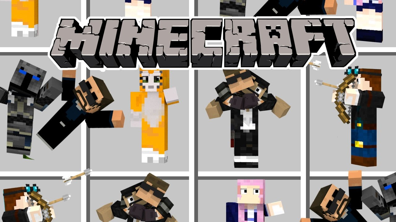 Minecraft every minecraft youtuber youtuber mod for The atlantic craft minecraft