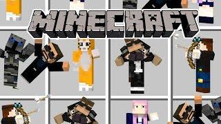 Minecraft | EVERY MINECRAFT YOUTUBER - Youtuber Mod!  (Dantdm, Stampy, Popularmmos)