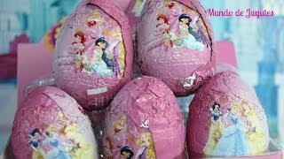 Huevos Kinder Sorpresa De las princesas Disney|Kinder Suprise Eggs Mundo de Jugutes thumbnail