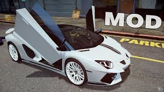 Grand Theft Auto IV - Gameplay With Lamborghini Aventador and Volkswagen Karmann Ghia 1967 [MOD]