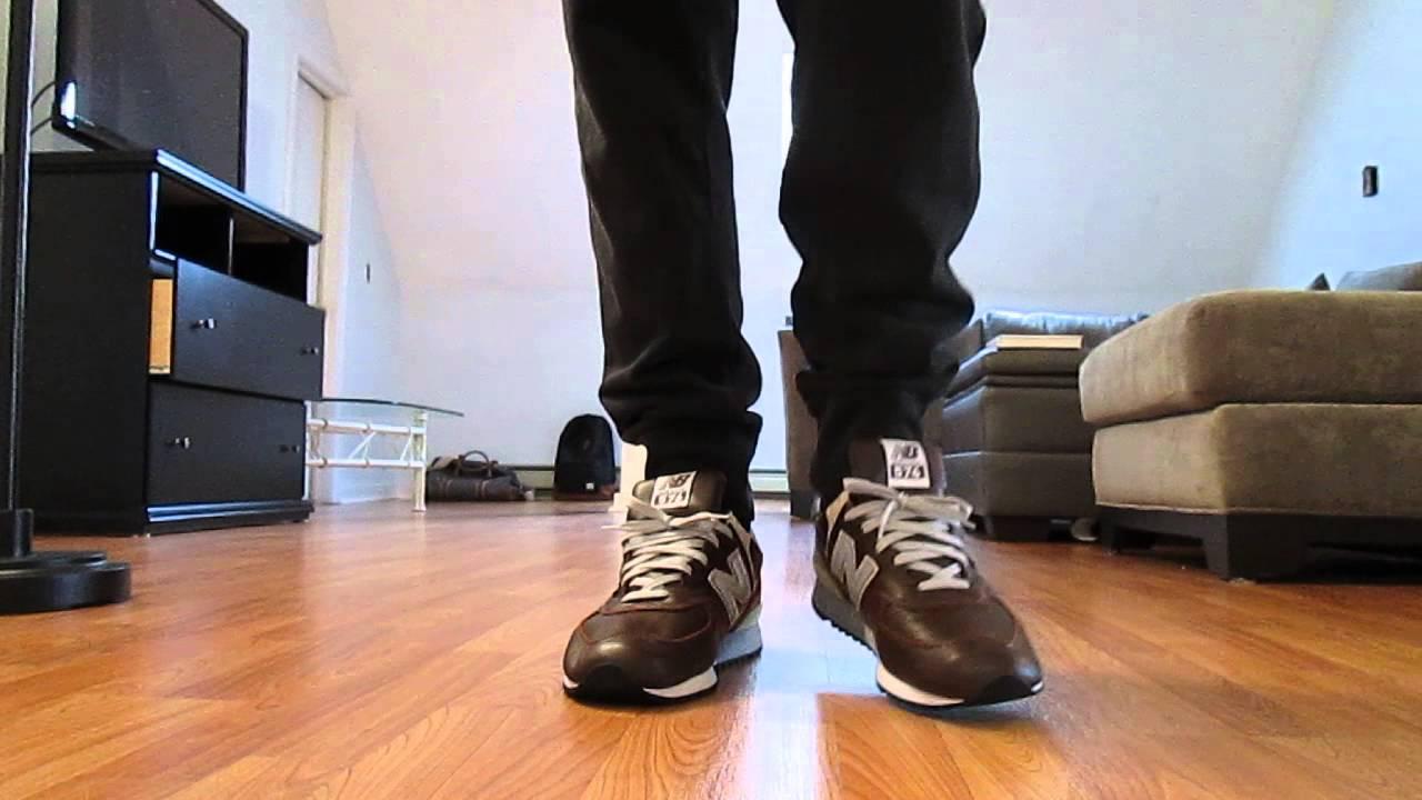574 Balance Brown Grey And New